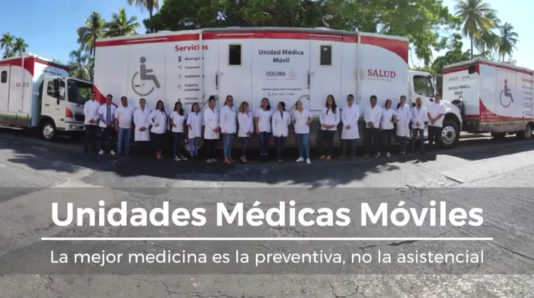 unidades medicas moviles equipo